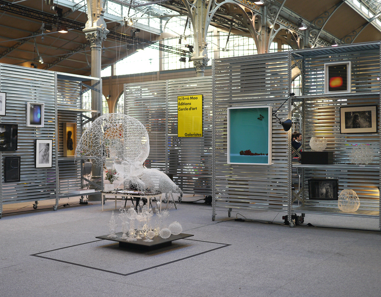 Salon Galeristes 2017 - Carreau du Temple, Paris - 09 et 10/12/2017